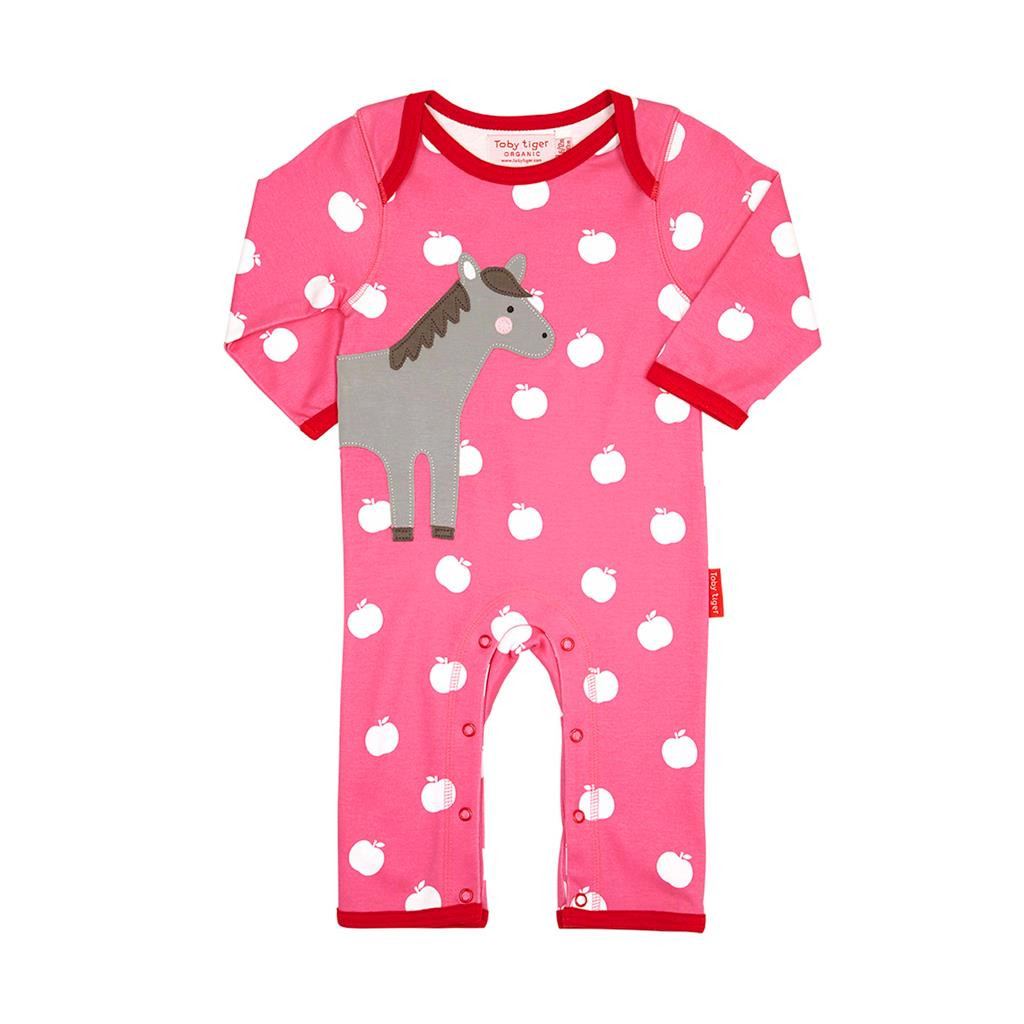 Toby Tiger Horse Sleepsuit
