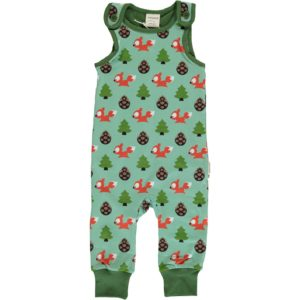 AW19 Maxomorra Busy Squirrel Playsuit