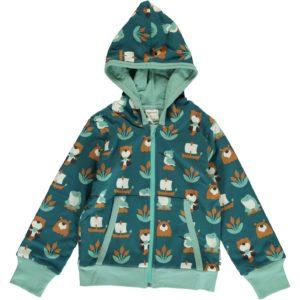 AW19 Maxomorra Lake Life Hooded Cardigan
