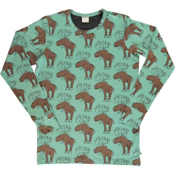 Aw19 Maxomorra Might Moose ADULT Long Sleeve Top