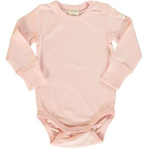 AW19 Maxomorra Pale Blush Solid Colour Long Sleeve Body