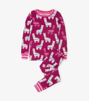 Hatley Adorable Alpacas Organic Cotton Pyjamas