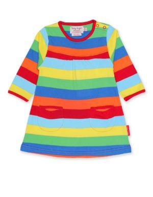Toby Tiger Multi Stripe Long Sleeve Dress