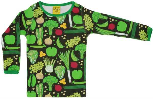 Duns of Sweden Eat Your Greens Long Sleeve Top