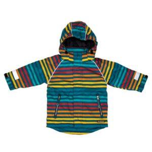 Villervalla Marina Stripe Winter Coat