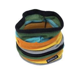 Villervalla City Stripe Fleece Tube Scarf