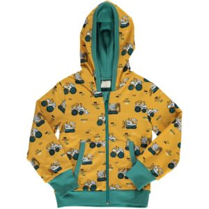 AW19 Maxomorra Brick Builders Hooded Cardigan