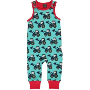 Aw19 Maxomorra Classic Tractor Playsuit