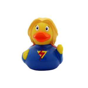 Lilalu Super Heroine Duck Bath Toy