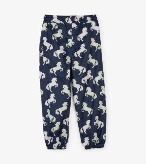 Hatley Playful Horses Colour Changing Splash Pants