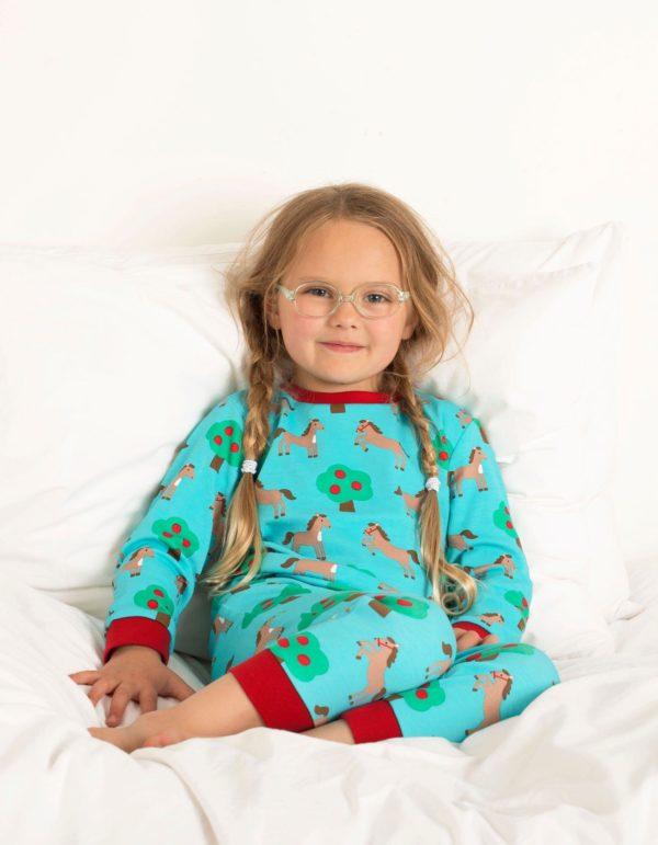 Toby Tiger Horse Print Pyjamas