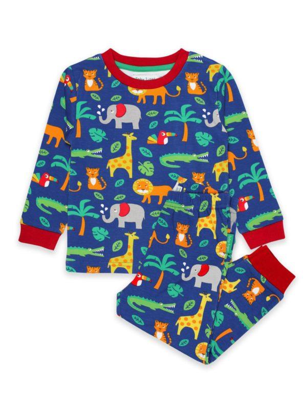 Toby Tiger Jungle Print Pyjamas