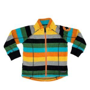 Villervalla City Stripe Fleece Jacket