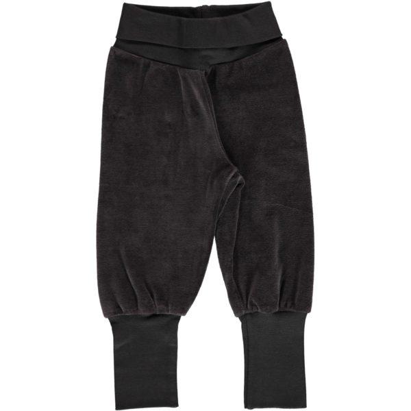 Aw19 Maxomorra Solid Graphite Rib Pants