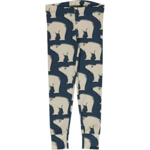 AW19 Maxomorra Polar Bear Cuff Leggings