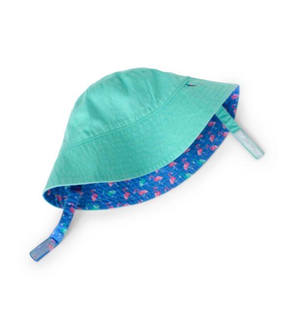 Hatley Fancy Flamingo Reversible Sun Hat