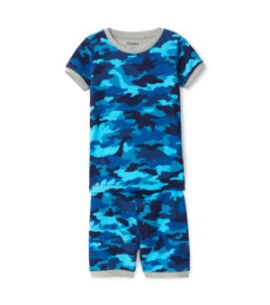 Hatley Dino Camo Organic Cotton Short Pyjamas