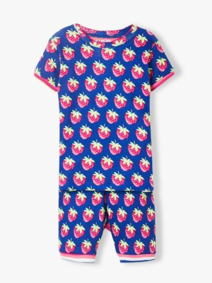 Hatley Strawberries Organic Cotton Short Pyjamas