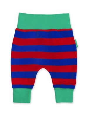 SS20 Toby Tiger Red and Blue Stripe Yoga Pants