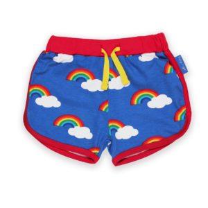 SS20 Toby Tiger Rainbow Running Shorts