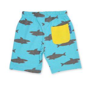SS20 Toby Tiger Shark Print Shorts