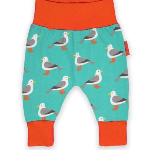 SS20 Toby Tiger Teal Seagull Yoga Pants