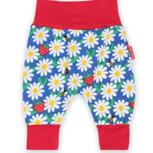 SS2020 Toby Tiger Blue Daisy Yoga Pants