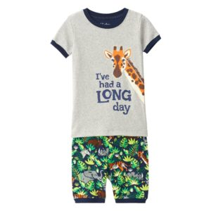 SS20 Hatley Jungle Safari Organic Cotton Short Pyjamas