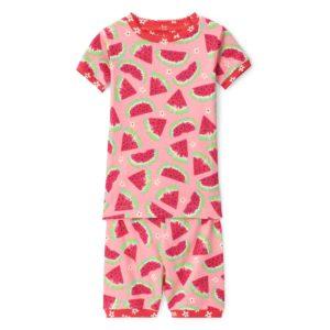 SS20 Hatley Watermelon Slices Organic Cotton Short Pyjamas