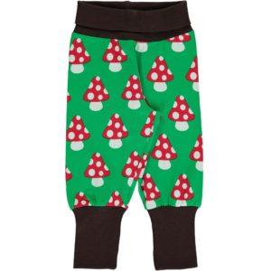 AW19 Maxomorra Classic Green Mushroom Rib Pants