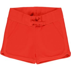 SS20 Maxomorra Poppy Solid Colour Runner Shorts