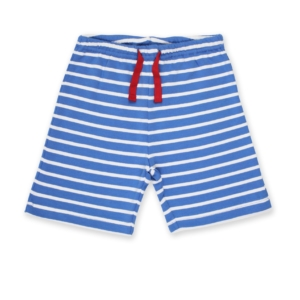 SS20 Toby Tiger Blue Breton Stripe Shorts