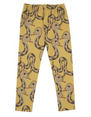 Dear Sophie Yellow Snake Leggings