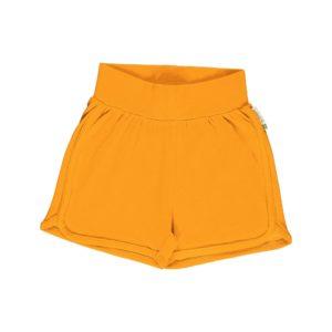 Ss20 Maxomorra Tangerine Solid Colour Runner Shorts