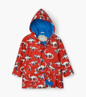 AW20 Hatley Painted Dinos Colour Changing Raincoat