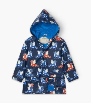 AW20 Hatley Dragons Colour Changing Raincoat