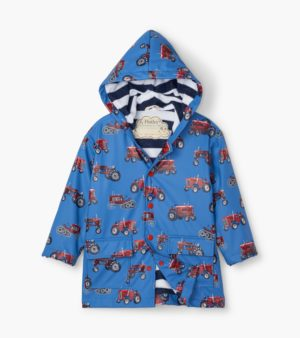 AW20 Hatley Vintage Tractors Waterproof Raincoat