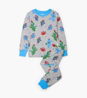 AW20 Hatley Back to School Monsters Organic Cotton Pyjamas