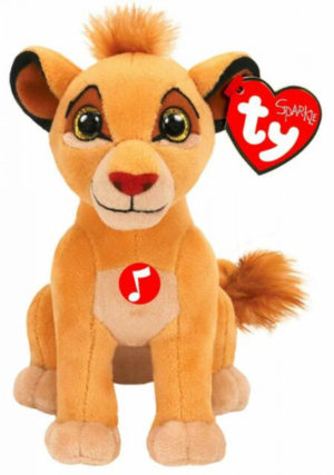 Ty Lion King Simba Small With Sounds