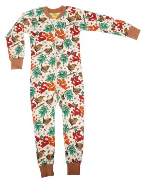 AW20 Duns of Sweden Mother of Pearl Rowanberry Zipsuit