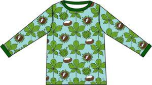 AW20 Duns Of Sweden Brook Green Chestnut Long Sleeve Top