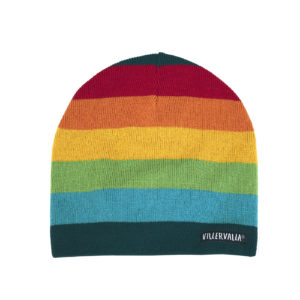 Villervalla Athens Stripe Knitted Hat with Fleece Lining