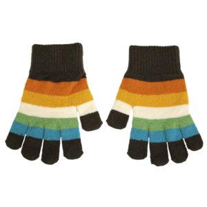 Villervalla Cairo Stripe Knitted Magic Gloves
