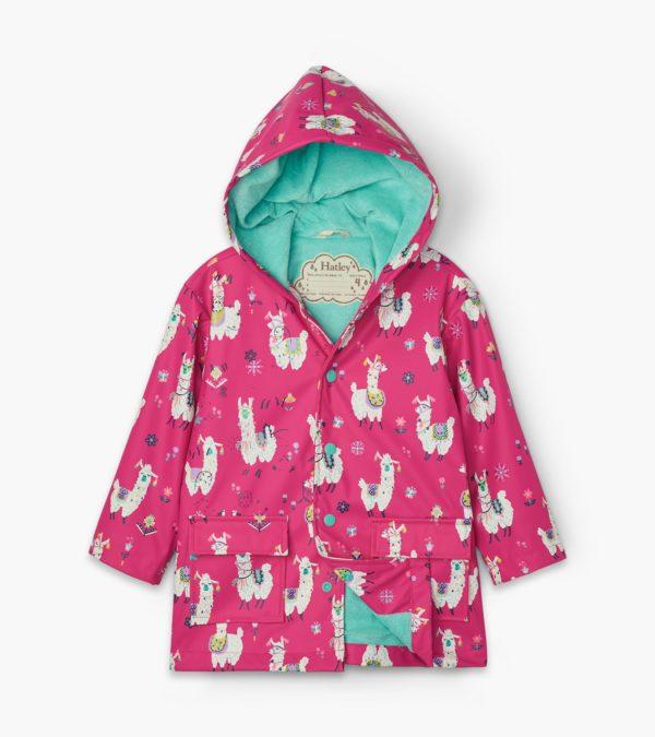 AW20 Hatley Pretty Alpacas Raincoat