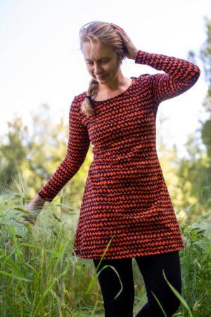 Paapii Rust Haloo Organic Cotton Tunic