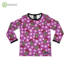 AW20 Villervalla Lotus Pink Bubblegum Long Sleeve Top