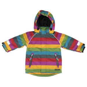 Villervalla Madrid Stripe Winter Coat