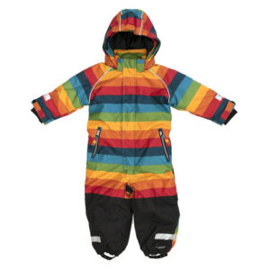 Villervalla Athens Stripe Snowsuit Overall
