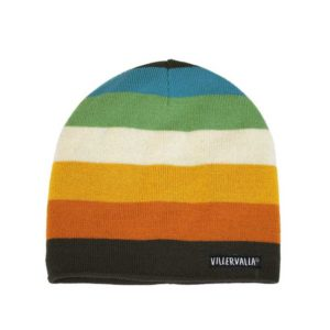Villervalla Cairo Stripe Knitted Hat with Fleece Lining