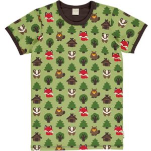 AW20 Maxomorra Green Forest ADULT Short Sleeve Top